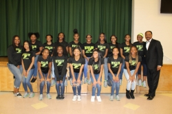 Winslow Township High School Girls Track Team Honored at Board Meeting